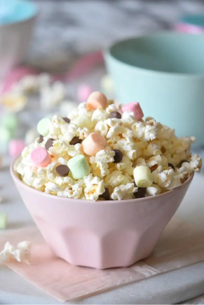 Unicorn Smore Popcorn Mix