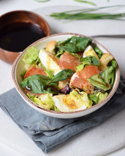 Grapefruit Salad with Wine Vinaigrette + How to Pair it with Wine