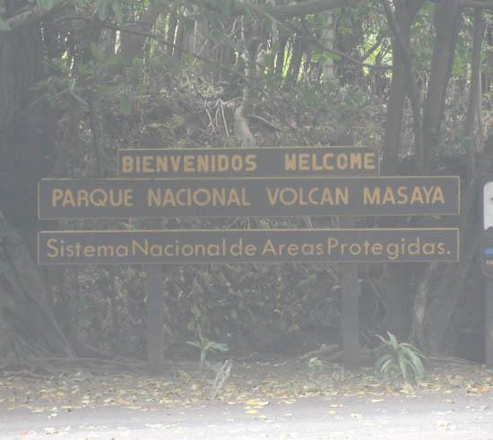 park entrance Masaya