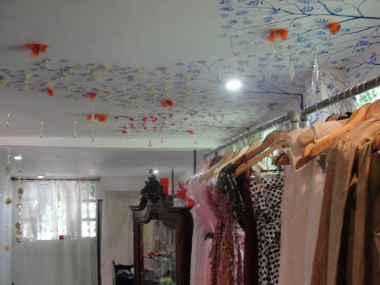 boutique ceiling