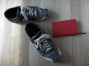 Shoes & Book