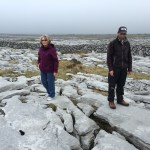 Can you imagine farming on this landscape? Farmer and tour guide Shane Connolly told us how the Burren works.