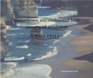 Does unconditional love exist?