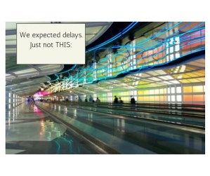 The mind-numbing travails of travel