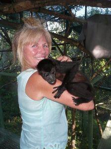 Howler Monkey in Sibu Habitat