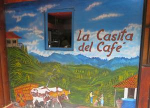 Mural at Casita del Cafe