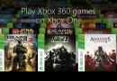 Xbox One : 2 nouveaux jeux rétrocompatibles