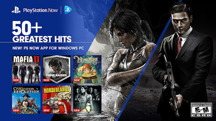 PlayStation Now New jeux