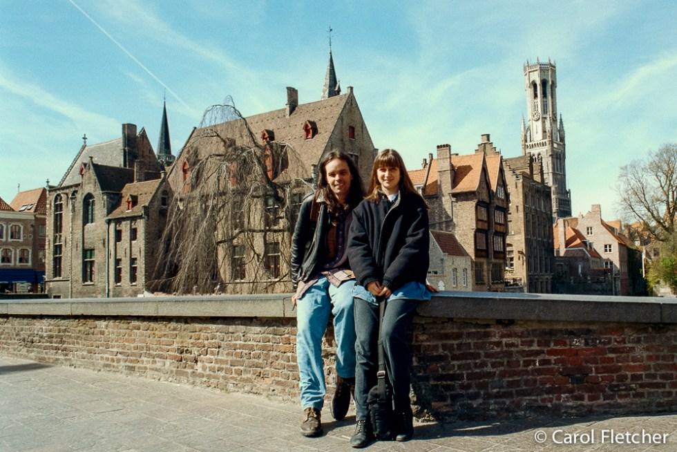 Bryan & Carol in Bruges