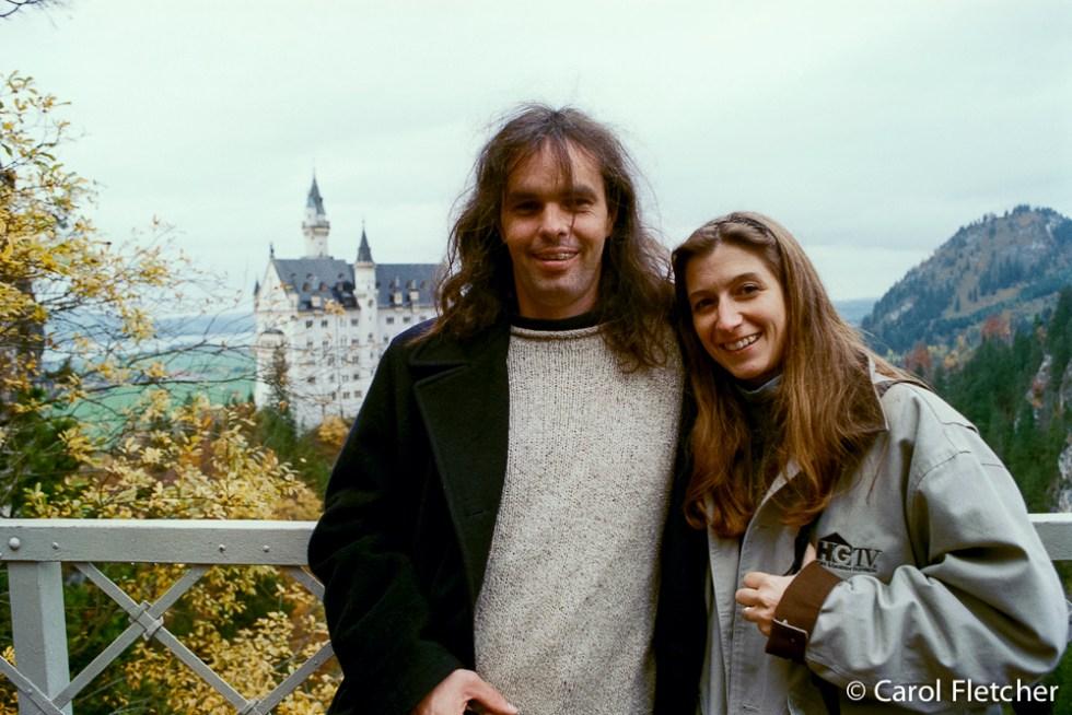 Carol & Bryan at Crazy Ludwig's Bavarian Castle Neuschwanstein, Germany