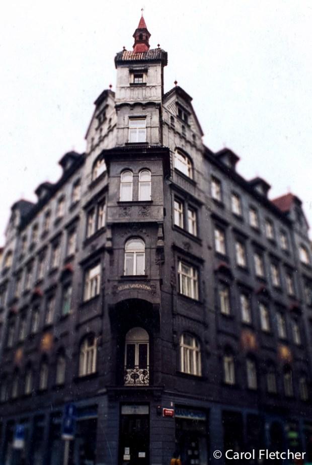 Prague Black Corner Building