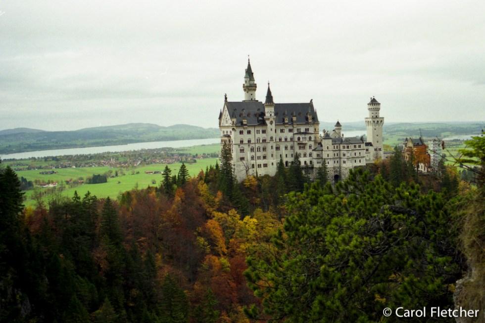 Crazy Ludwig's Bavarian Castle Neuschwanstein, Germany