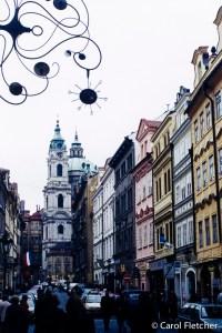 Curlicues in Prague