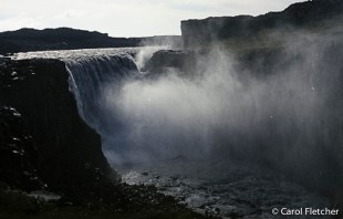 Dettifoss, largest waterfall in Europe