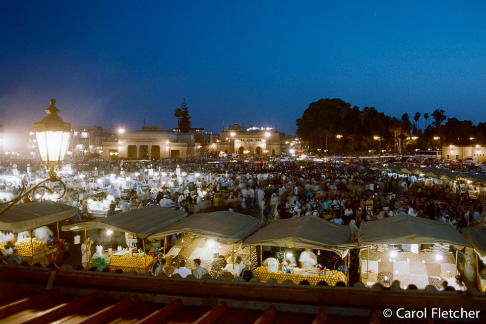 Djemaa El Fna evening