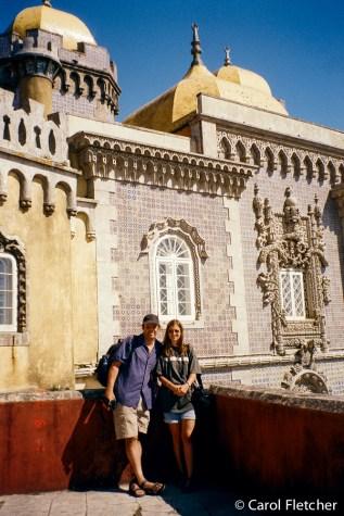 Bryan & Carol at Pena Palace