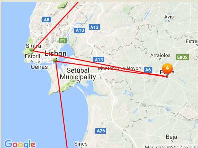 Portugal: Lisbon to Evora to Sintra