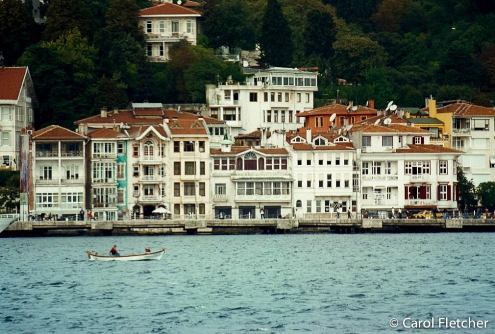 Yalis along the Bosphorus