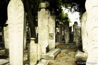 Turkish graveyard