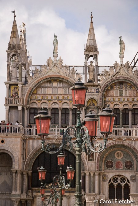 San Marco and street lanterns
