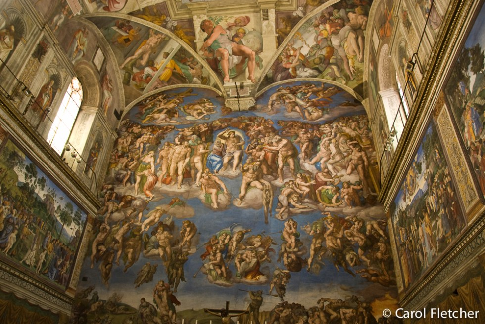 Michelangelo's Last Judgment in the Sistine Chapel