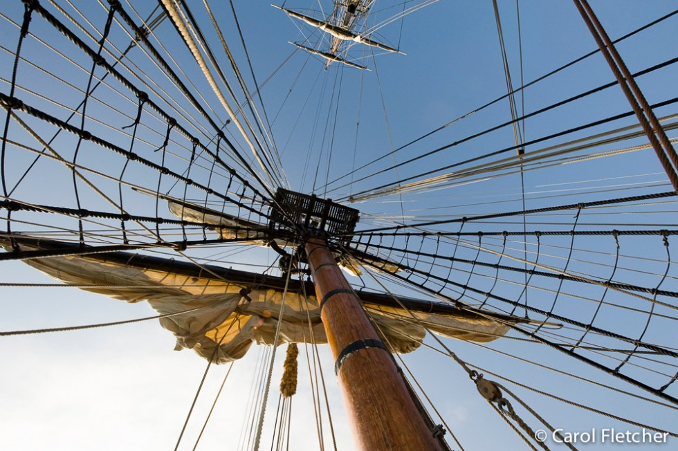 Rigging on the Bounty