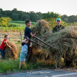 hay cuba road farmer children