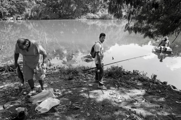 Fishing the blackwater of Havana's river