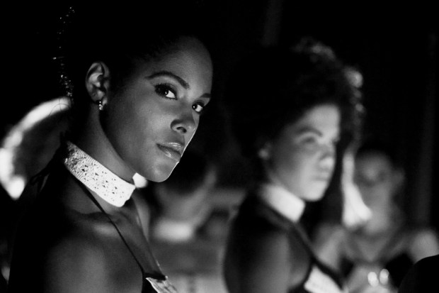 Backstage at a fashion show - Havana Cuba