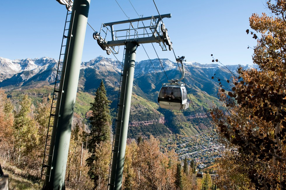 The Gondola into Telluride
