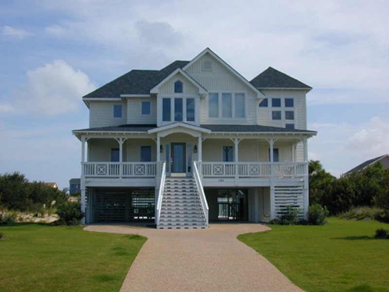 ordinary vacation home builders #3: Outer Banks NC custom vacation home