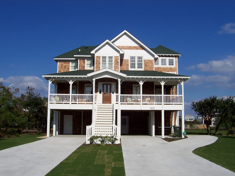 Vacation home nags head outer banks custom built homes for Summer homes builder