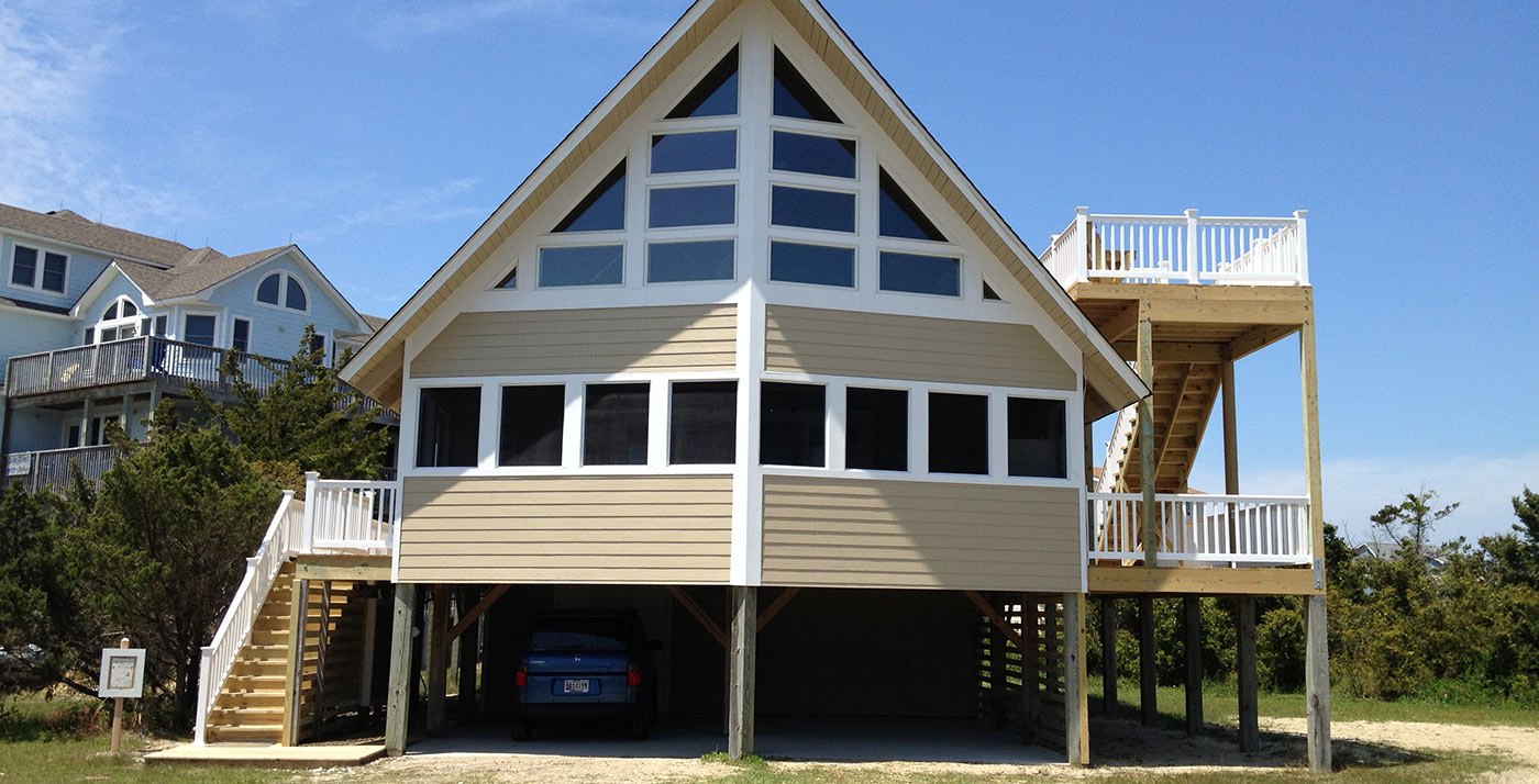 Outer Banks Beach Box Home Renovation