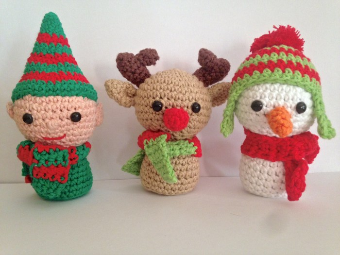 amigurumis navideños