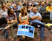 Fracking public hearing featured