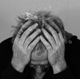 sad older man pic