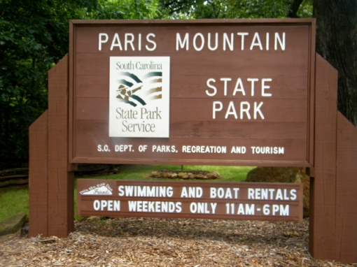 Paris Mountain State Park via carolinarunner.com