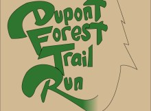 DuPont Forest 12k Trail Graphics by Warren Wilson College Students