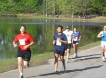 Cary Road Race 5k and 10k April 11 2015 Koka Booth Amphitheatre Cary NC