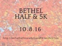 bethel half marathon
