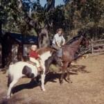 1964 on horseback