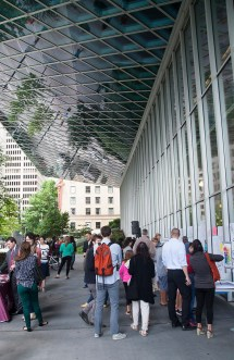 Seattle Public Library: Pop Up on the Plaza