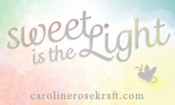 Sweet is the Light Blog Button