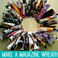 Magazine Wreath