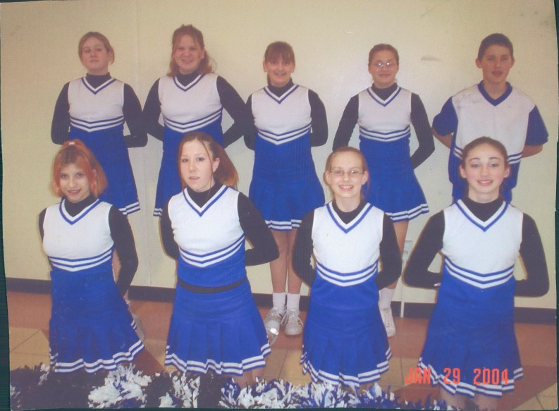 Anna and the Lakeview Cheerleaders