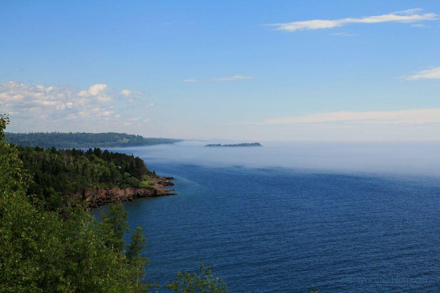 Looking North along Lake Superior
