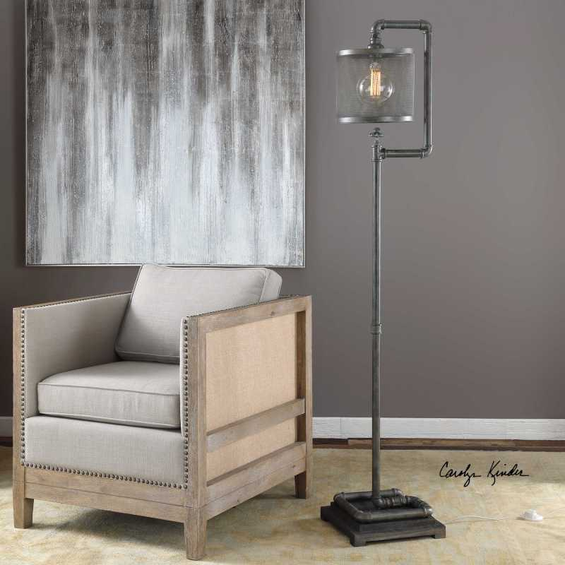 Large Of Industrial Floor Lamp