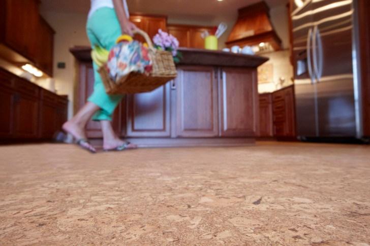cork cork flooring kitchen Cork