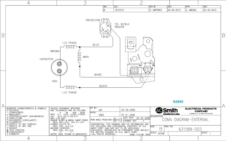 Ao Smith Motors Wiring Diagram Caferacersjpg