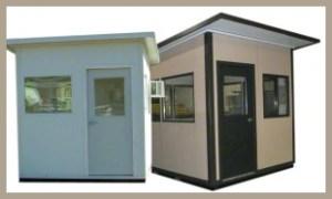 Steel Buildings Guard Huts
